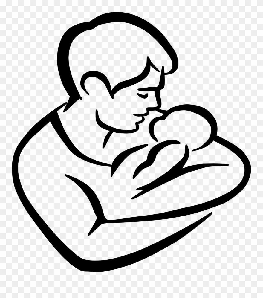 Clipart of fathers praying with their children clipart royalty free stock Clip Freeuse Library Child Praying Clipart Black And - Father And ... clipart royalty free stock