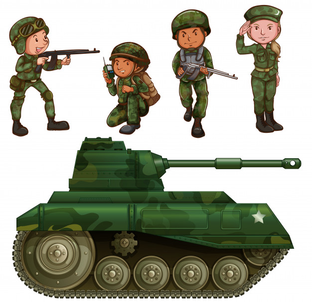 Army and daughter clipart graphic transparent stock Soldier Vectors, Photos and PSD files | Free Download graphic transparent stock