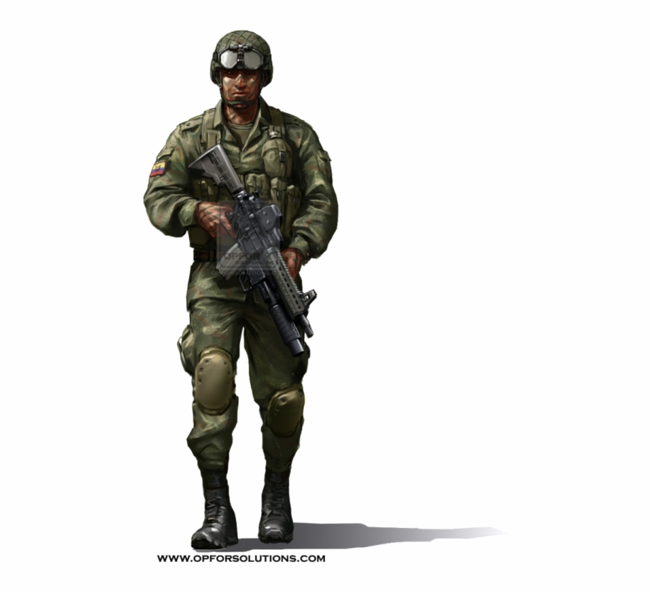 Army and daughter clipart jpg black and white stock Army Guy Png - Colombian Army Uniform Free PNG Images & Clipart ... jpg black and white stock