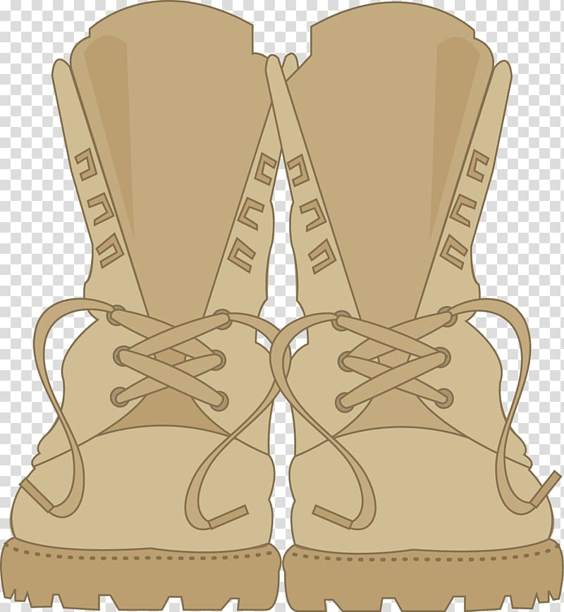 Army boots clipart