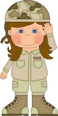 Army boy and girl clipart clip art free library Free Military Female Cliparts, Download Free Clip Art, Free Clip Art ... clip art free library