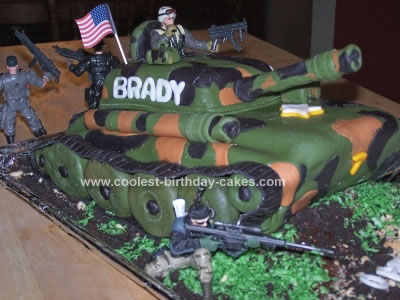 Army cake clipart clip art freeuse library Awesome Homemade U.S. Army Tank Cake clip art freeuse library