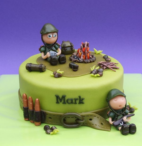 Army cake clipart image stock little soldier cake | cakes I love | Birthday cake, Cake, Army cake image stock