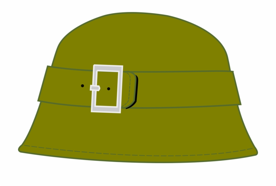 Army cap clipart image black and white download Soldier Military Hat Army Cap - Clip Art Army Hat Free PNG Images ... image black and white download