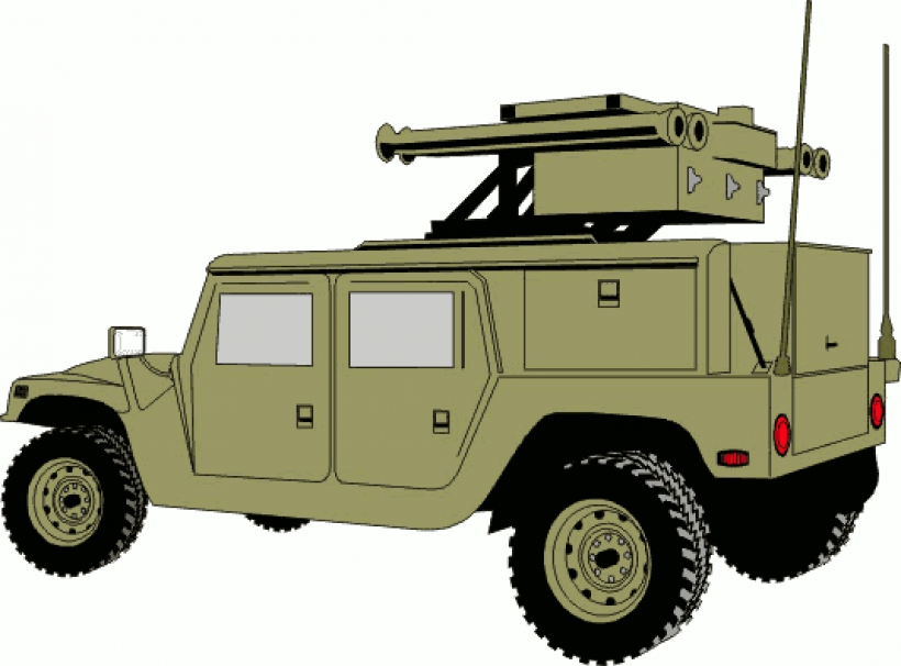 Army clipart vehicles jpg black and white Military Clipart Army | Free download best Military Clipart Army on ... jpg black and white