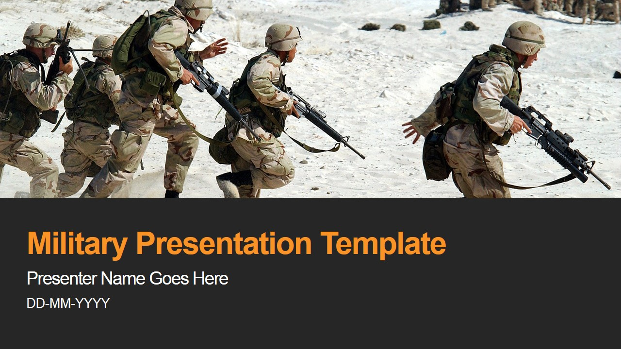 Us army powerpoint clipart png freeuse Military PowerPoint Template png freeuse