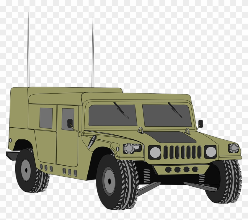 Army clipart vehicles freeuse library Hummer Vehicle Humvee Hum-v Armored Army War - Military Humvee ... freeuse library