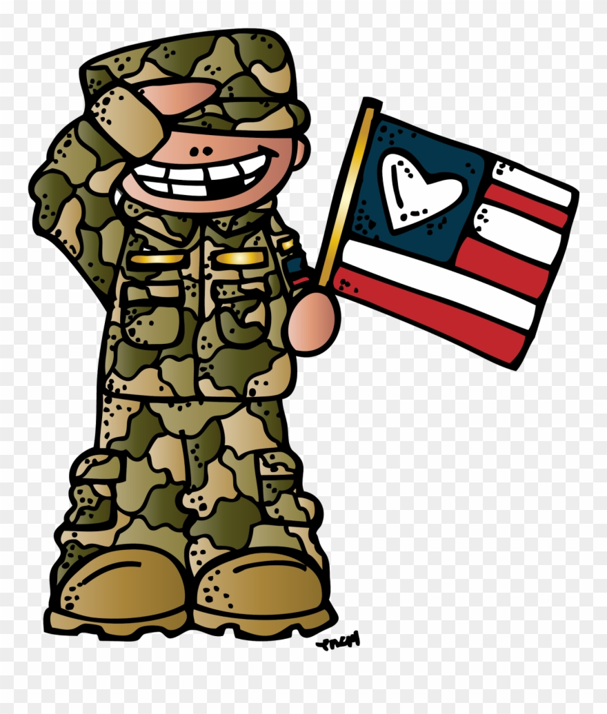 Army day clipart png stock Clipart - Military - Melonheadz Veterans Day Clipart - Png Download ... png stock