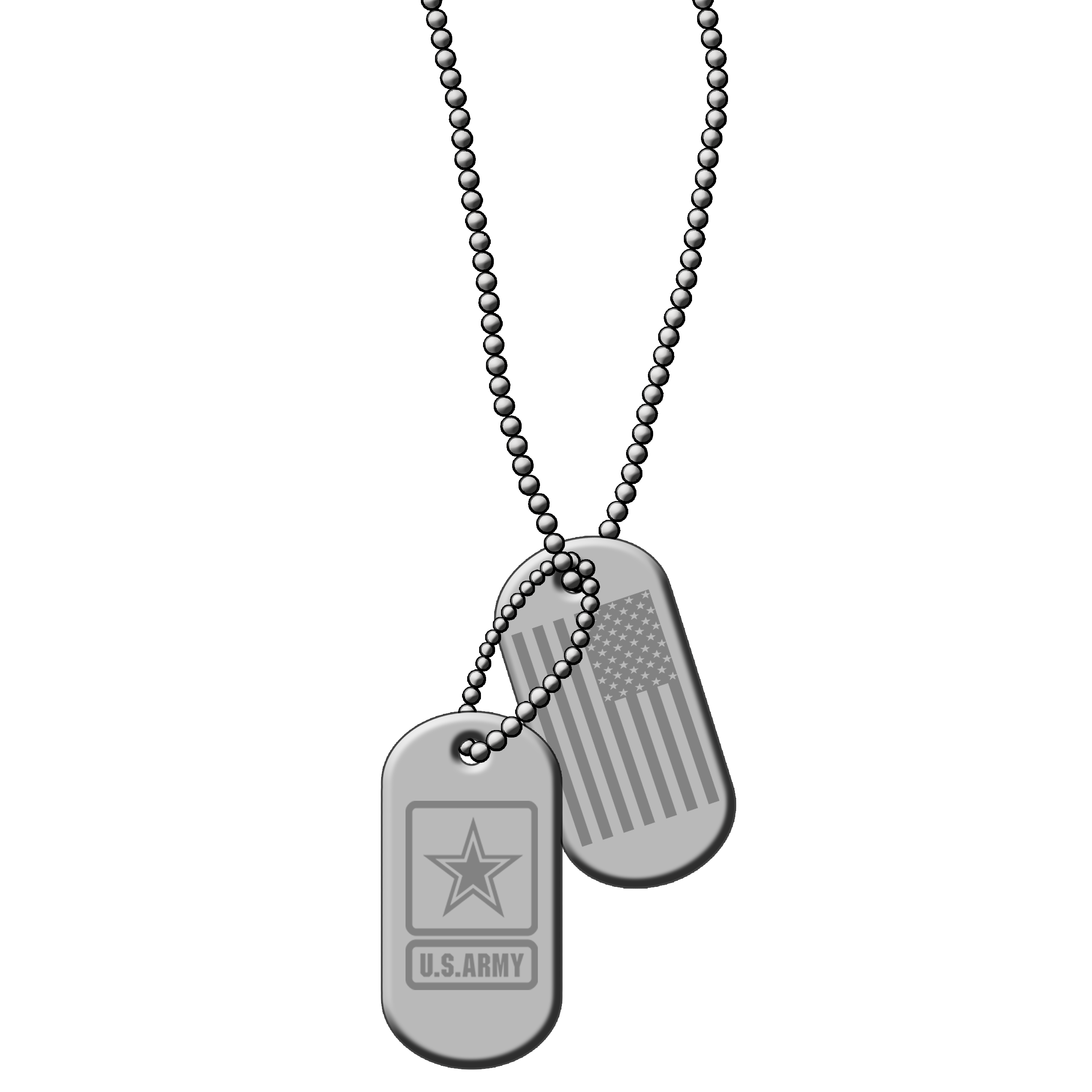 Army dog tag clipart vector freeuse library ID Dog Tags Silver Metal PNG Clip art Vector US ARMY | My Designs ... vector freeuse library