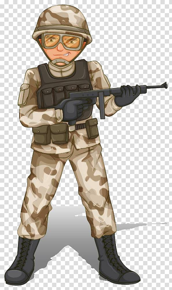Army equipment clipart no background clip art freeuse stock Soldier holding rifle illustration, Soldier , Soldiers armed with ... clip art freeuse stock