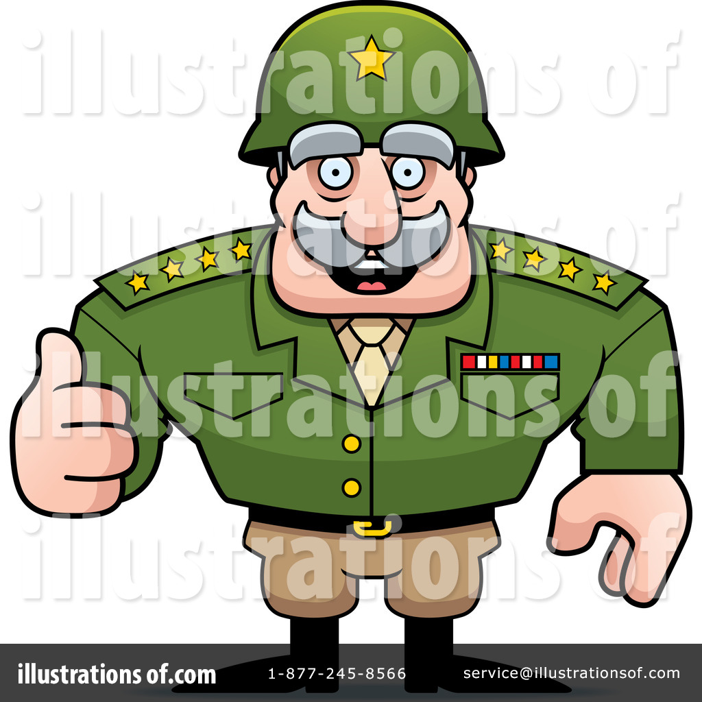 Army general clipart transparent library Army General Clipart #1259808 - Illustration by Cory Thoman transparent library