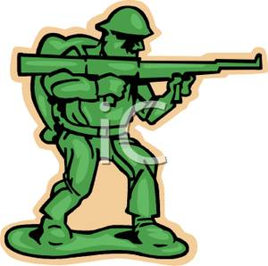 Army person clipart png library A Plastic Army Man - Royalty Free Clipart Picture png library