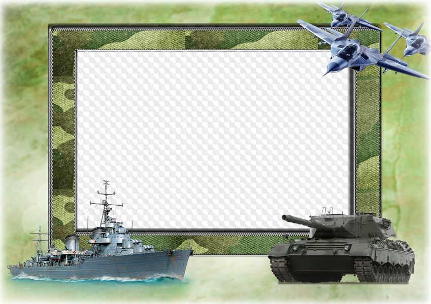Army photo frame clipart svg download Ship, tank, plane military photo frame, PSD, PNG. Transparent PNG ... svg download