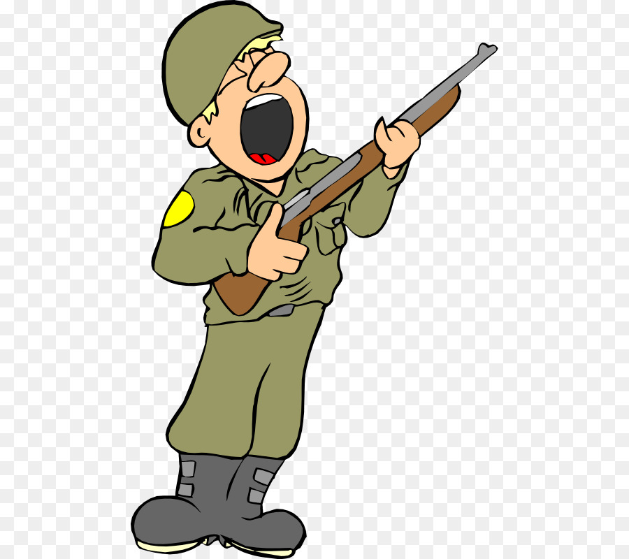 Army soldier clipart free picture black and white Army Cartoon png download - 526*800 - Free Transparent Soldier png ... picture black and white