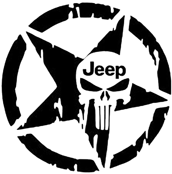 Basketball seal clipart distressed png freeuse download Jeep punisher star decal | Products | Pinterest | Punisher and Jeeps png freeuse download
