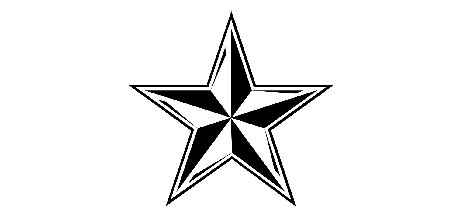 Army star clipart free banner black and white download Free Military Stars Cliparts, Download Free Clip Art, Free Clip Art ... banner black and white download