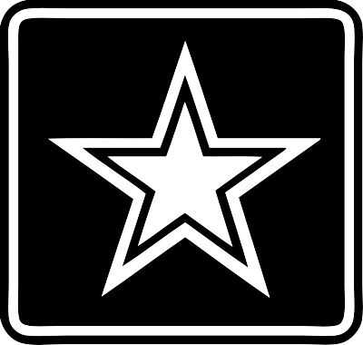Army star logo clipart clip black and white stock Army Png Logo Vector - Free Transparent PNG Logos clip black and white stock