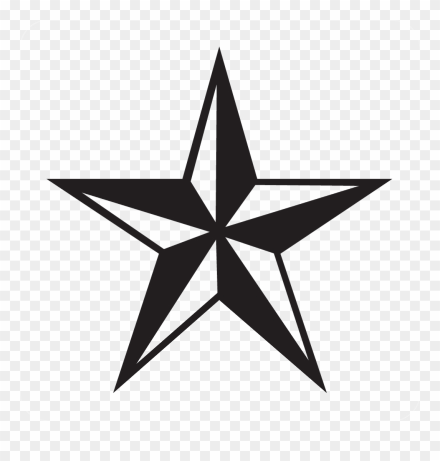 Army star logo clipart jpg royalty free download Army Star Decal - Star Clipart Black And White - Png Download ... jpg royalty free download