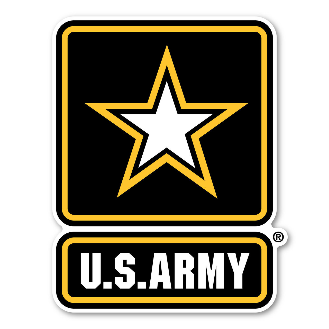Army star logo clipart svg black and white download Army Star Logo Magnet svg black and white download