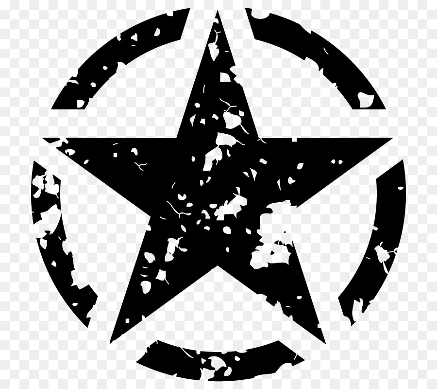 Army star logo clipart image Black Star png download - 800*800 - Free Transparent Jeep png Download. image