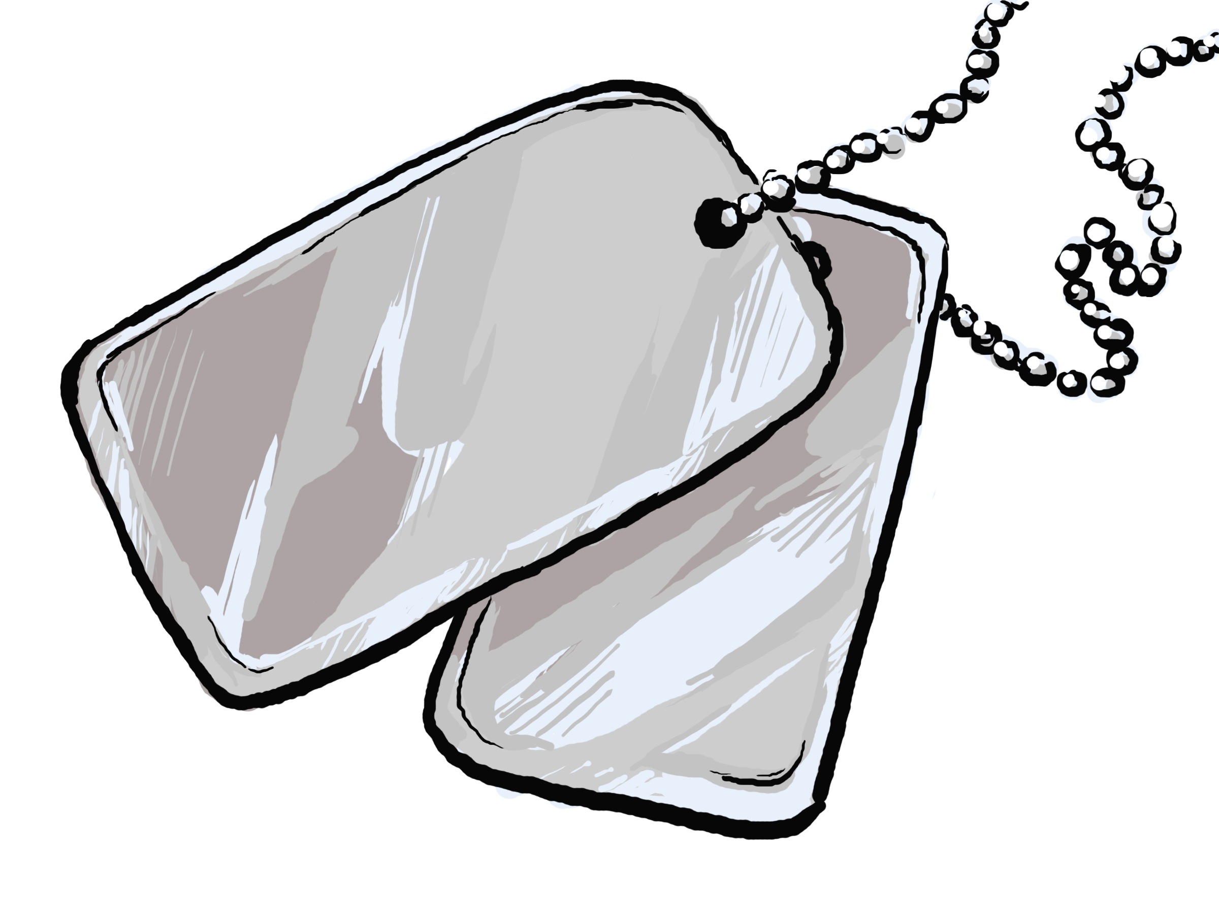 Army tags clipart png transparent download 89+ Dog Tags Clipart | ClipartLook png transparent download