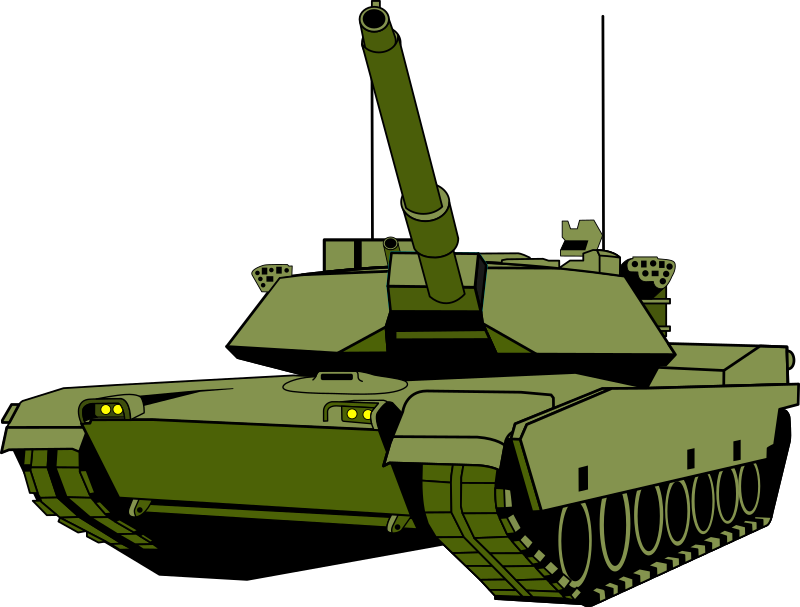Army tank clipart free