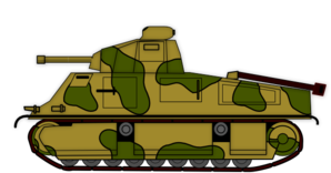 Army tanker clipart
