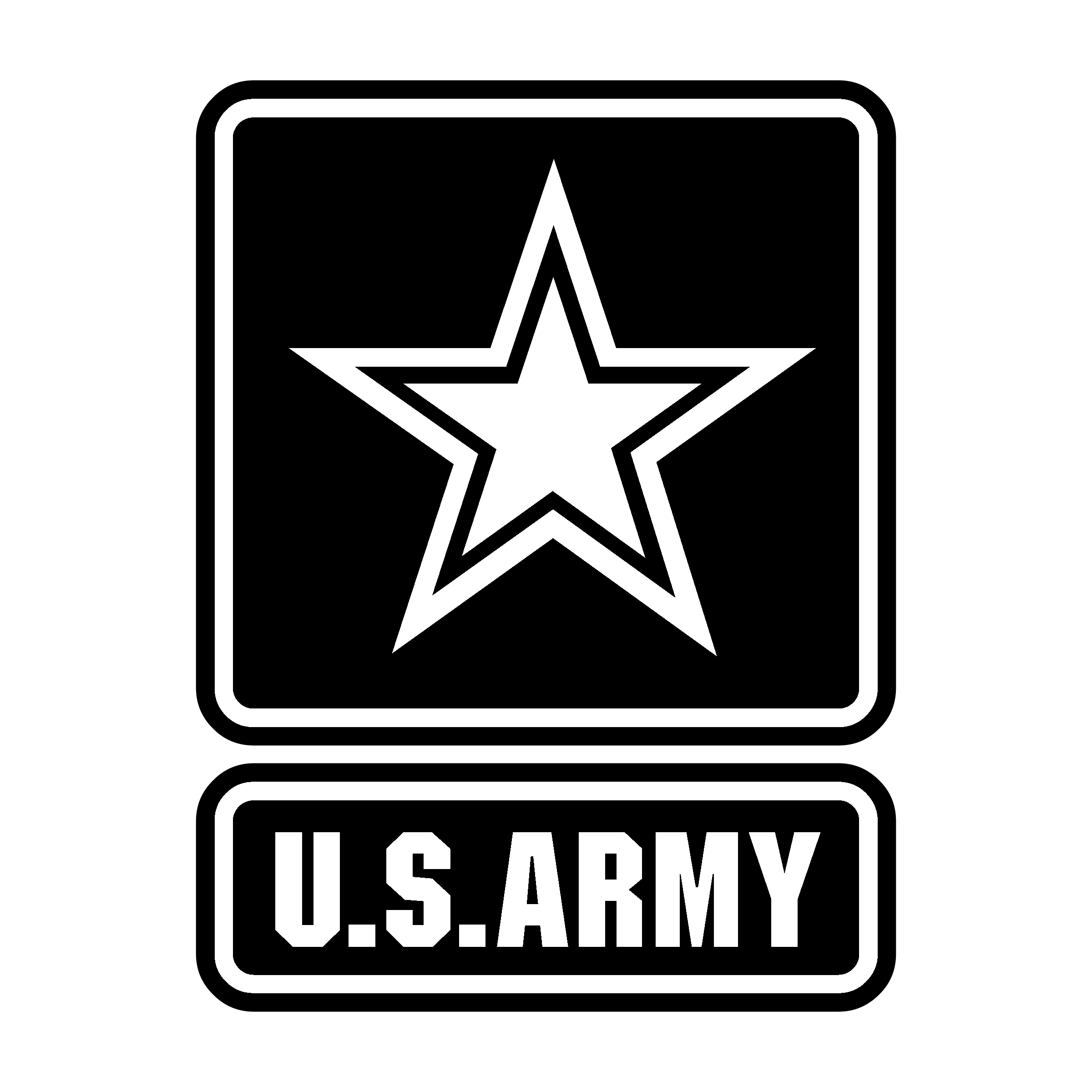 Army text clipart transparent library Logo United States Army Clip art - united states png download - 2400 ... transparent library