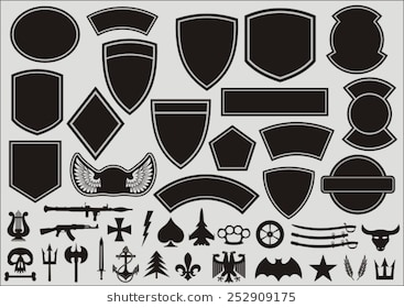 Army unit patches clipart image free download Army Unit Patches Clipart & Clip Art Images #15753 - clipartimage.com image free download