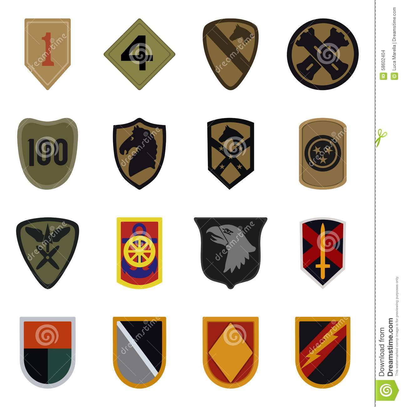 Army unit patches clipart png transparent download Collection of 14 free Patch clipart military aztec clipart vintage ... png transparent download