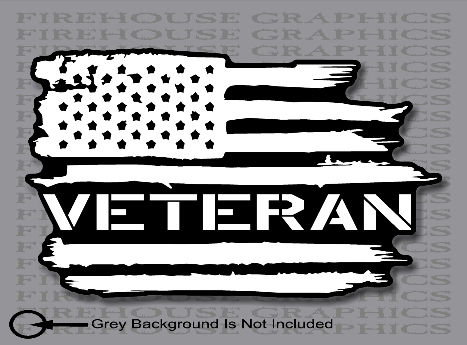 Disabled amirican vetreans black and white clipart jpg transparent stock Details about US Veteran American flag Army Navy Marines Air Force vinyl  sticker decal jpg transparent stock