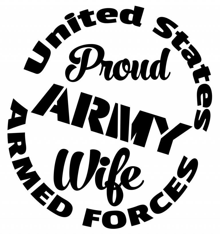 Army wife clipart svg jpg freeuse download Free Proud Army Wife SVG Cutting File | cricut | Cutting files ... jpg freeuse download