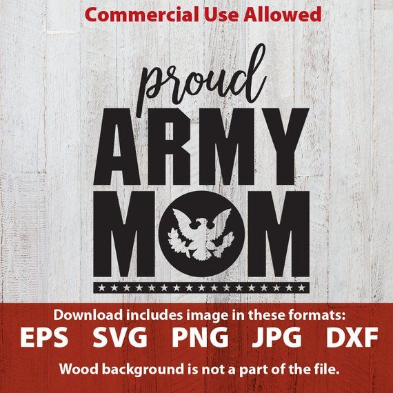 Army wife clipart svg png Proud Army Mom svg cutting file proud army mom clipart clip art ... png