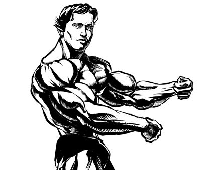 Arnold schwarzenegger clipart clipart transparent Arnold Schwarzenegger Drawing | Free download best Arnold ... clipart transparent
