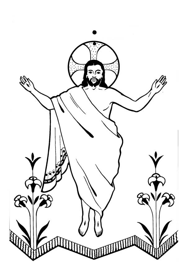 He arose cliparts download. Free christ coming to america clipart black and white