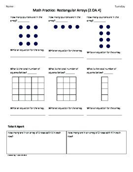 Array clipart 2nd grade png library stock Arrays 2nd Grade Math Grade Array Math Worksheets Related Math ... png library stock