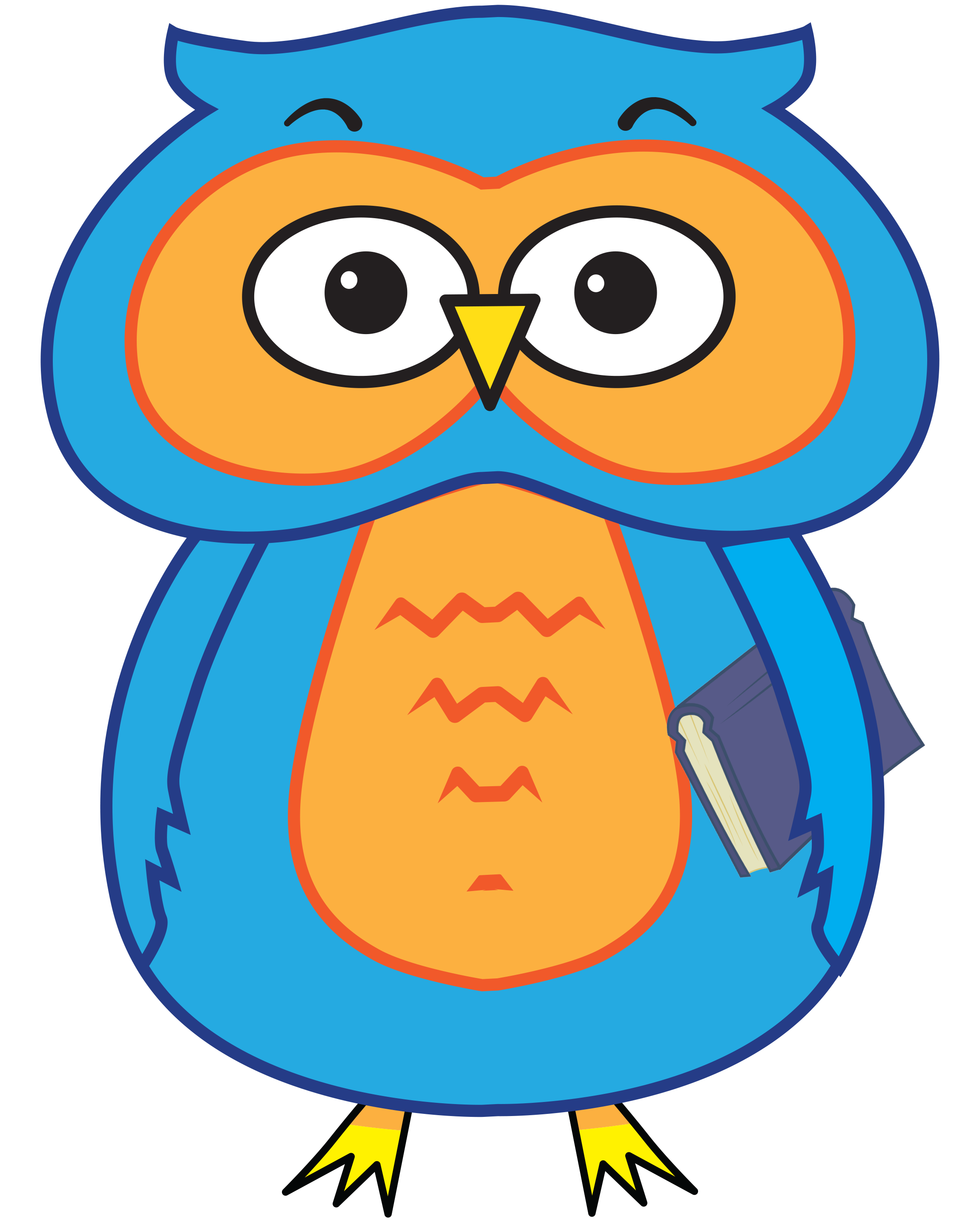 Owl reading book clipart royalty free stock Home - Angel Oak Elementary School royalty free stock