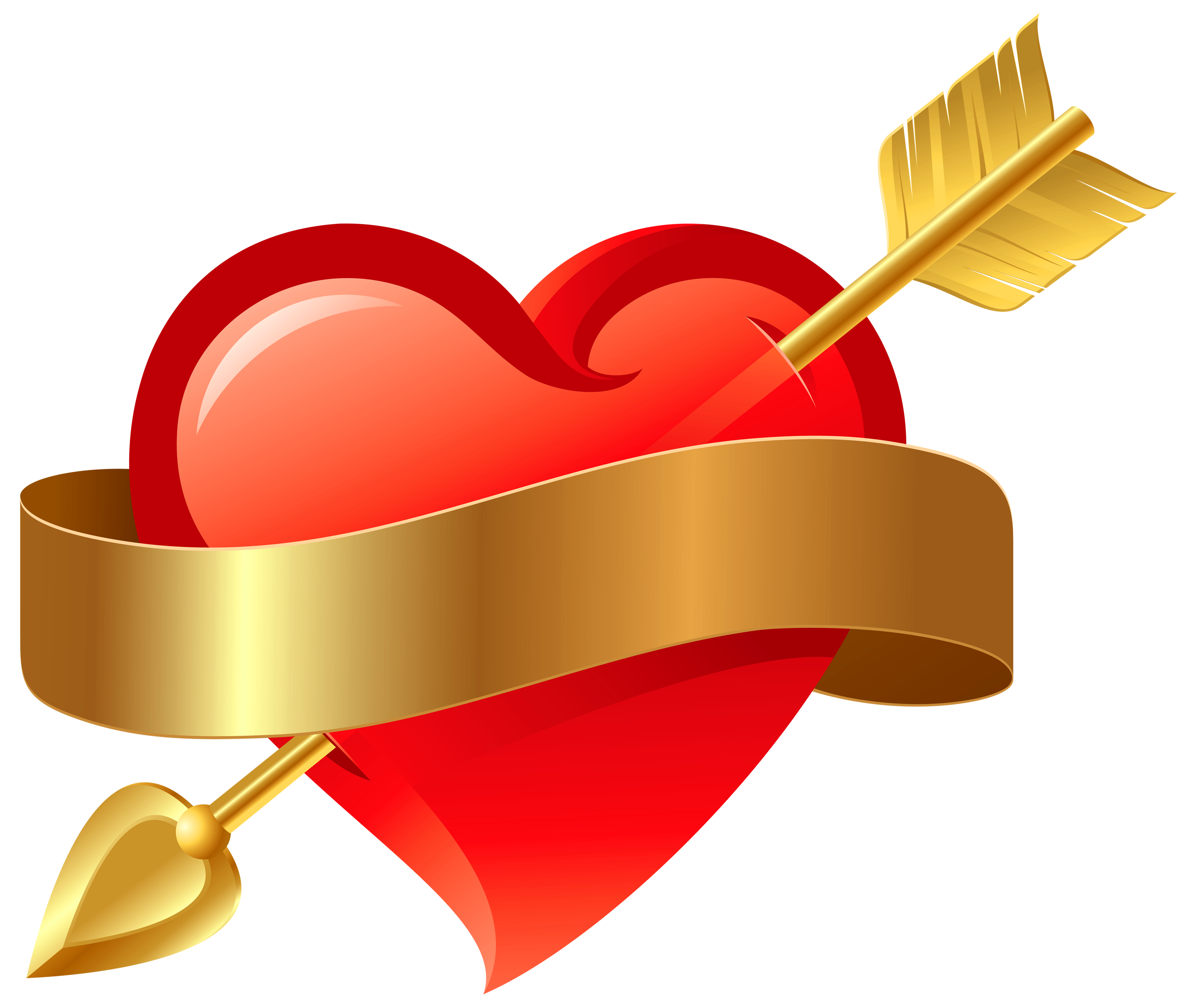 Free clipart heart with arrow graphic royalty free library Heart Png With Arrow Transparent graphic royalty free library
