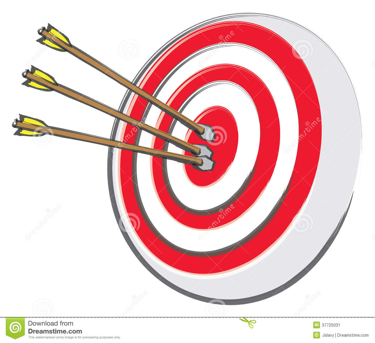 Arrow and target clipart. Clipartfest an archery with