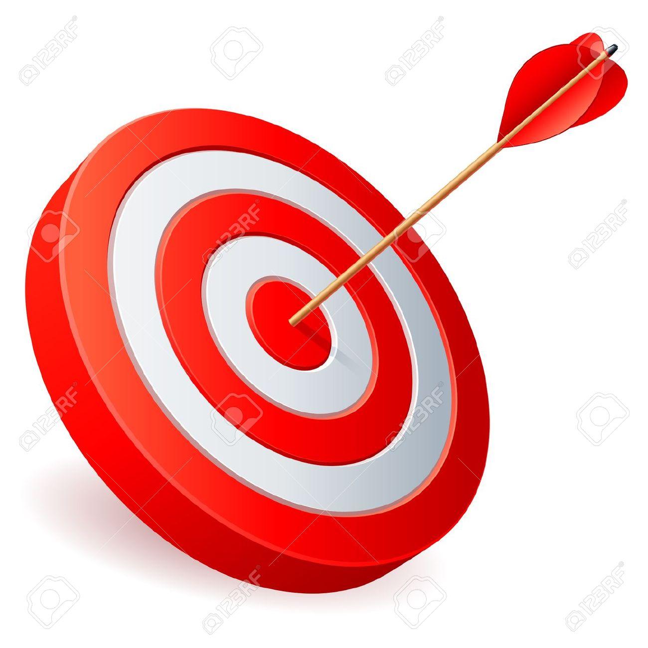 Arrow and target clipart image stock Arrow hitting target clipart - ClipartFest image stock