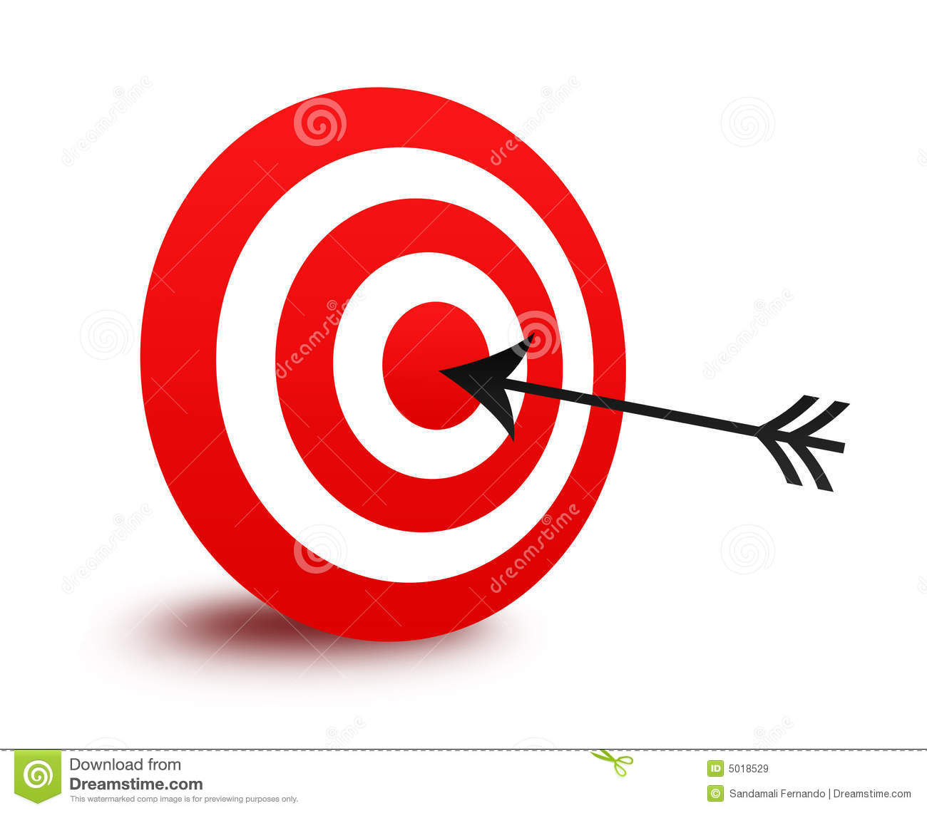 Arrow and target clipart jpg freeuse stock Arrow Bullseye Clipart - Clipart Kid jpg freeuse stock