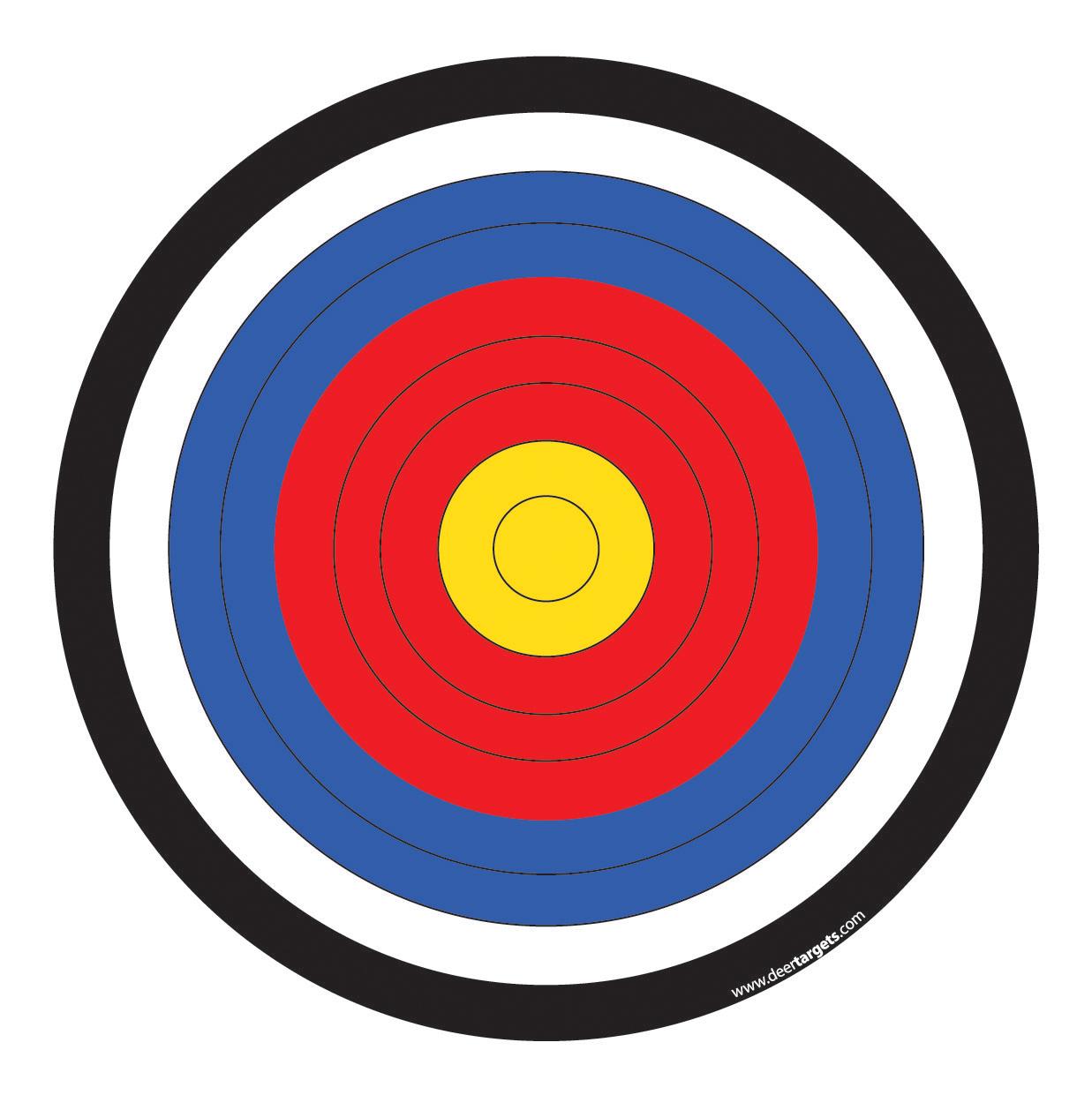 Arrow and target clipart jpg transparent stock Bow and arrow target clipart - ClipartFest jpg transparent stock