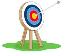 Arrow and target clipart banner transparent library Free Sports - Archery Clipart - Clip Art Pictures - Graphics ... banner transparent library