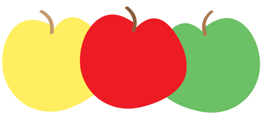 Apple preschool banner clipart free library Apple Clipart Black And White Png | Free download best Apple Clipart ... free library