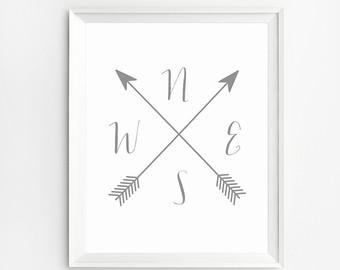 Arrow artwork image black and white stock Arrow artwork – Etsy image black and white stock