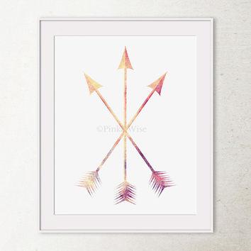 Arrow artwork svg transparent download Chevron Art Print Chevron Arrows Art from PinkandWise on Etsy svg transparent download