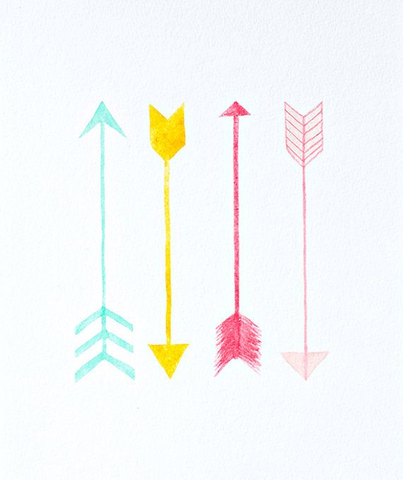 Arrow artwork image library download arrows watercolor PRINT nursery artwork by sweetmagoo on Etsy ... image library download