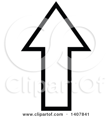 Arrow black and white clipart graphic Clipart of a Black and White down Directional Arrow Design Element ... graphic