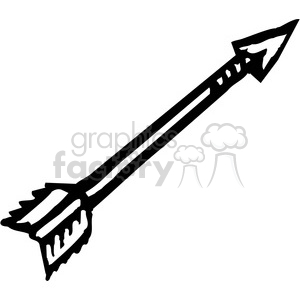 Arrow black and white clipart clip royalty free library Royalty-Free black and white arrow 173685 vector clip art image ... clip royalty free library