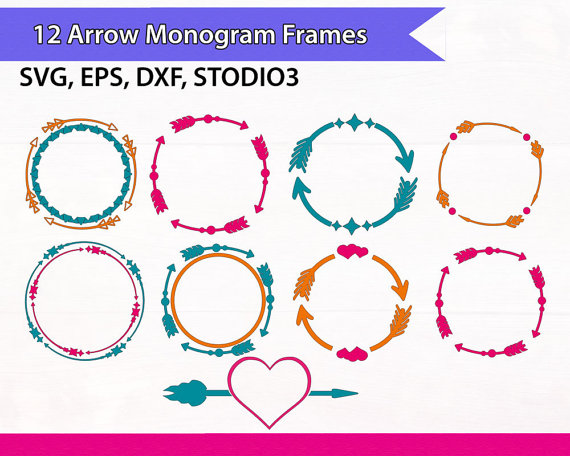 Clipartfest . Arrow circle frame clipart